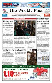 the weekly post 12 8 16 by the weekly post issuu