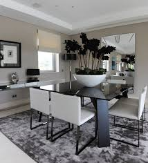black and white dining room ideas black and white dining room chic decor great with best experience