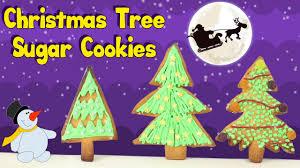 christmas recipe how to make christmas tree sugar cookies youtube