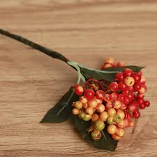 online shop artificial flowers bouquet auspicious christmas fruit