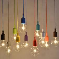 sauceda silicone e27 home diy ceiling pendant lamp light bulb