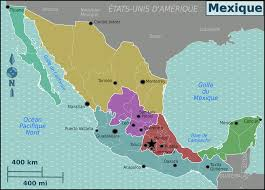 Merida Mexico Map by File Mexico Regions Map Fr Png Wikimedia Commons