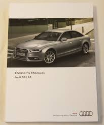 genuine audi a4 s4 saloon and avant handbook owners manual 2011