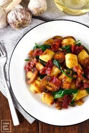 turkey mushroom gravy recipe details gnocchi with spinach mushrooms and crispy prosciutto iowa eats