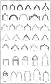 types of arches typically seen in islamic architecture