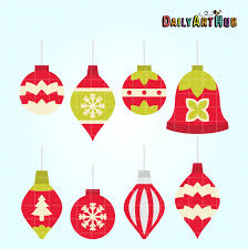 simple ornaments clip set daily hub free