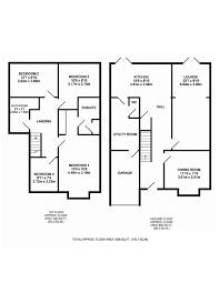 semi detached house floor plan 4 bedroom semi detached house for sale located al2 3az floor plan