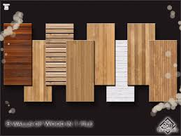 devirose s wood walls set