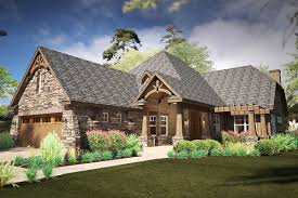 mountainside home plans narrow rugged house plan with rear lanai 16893wg architectural