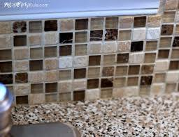 kitchen backsplash without grout