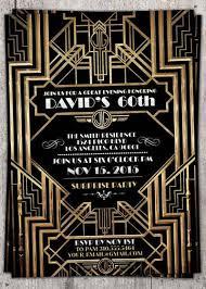 Gatsby Invitations Great Gatsby Invitation 40th Birthday Pinterest Gatsby