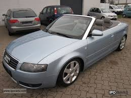 audi a4 convertible 2002 2002 audi a4 2 4 multitronic cabriolet leather navi bose car