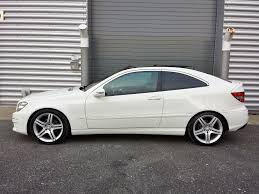mercedes white mercedes benz clc 200 sport 2 1td 2dr 2008 for sale aspinall