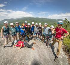 fox mountain guides guided rock climbing from accredited program