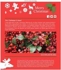 new festive and free email marketing templates sign up to