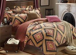 vintage tribal pattern 4 piece carla velvet duvet cover sets
