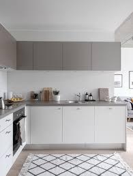 decordots modern scandinavian white and grey kitchen styling and