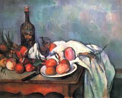 still life with red onions paul cezanne cezanne paintings art
