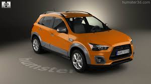 asx mitsubishi 2015 360 view of mitsubishi asx outdoor 2015 3d model hum3d store