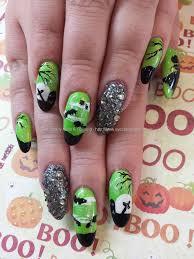 halloween acrylic nail art gallery for gt halloween acrylic nail