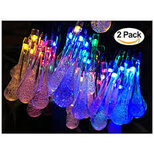 Fairy Lights Amazon Amazon Com 2 Pack Solar Strings Lights Lemontec 20 Feet 30 Led