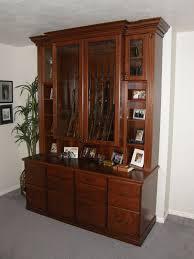 lewis custom woodwork custom furniture gun cabinet portfolio