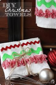 gift ideas for kitchen diy kitchen towels
