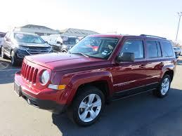 jeep sahara maroon 2016 used jeep patriot latitude fwd alloy wheels new tires