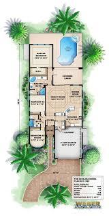 mediterranean floor plans mediterranean house plan narrow lot mediterranean home floor plan