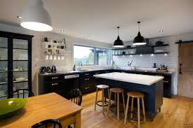 2015 Kitchen Trends by Farmhouse Kitchen Renovation Has Steel Benchtops Cabinets And