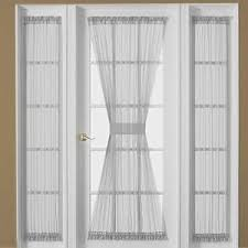 Curtains For Doors With Windows Front Door Small Window Curtain For Privacy Sewing