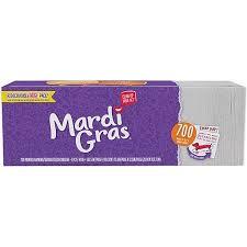 mardi gras napkins mardi gras 700ct napkins staples