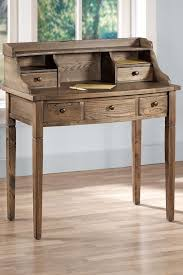 furniture of america tali contemporary 2 tone leaning writing desk