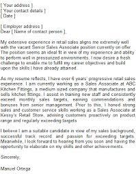 cover letter sales sle cover letter exles for sales resume sales sales lewesmr