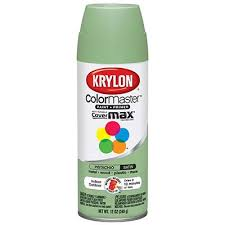 krylon colormaster spray paint indoor outdoor use satin