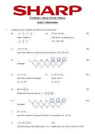 pattern worksheets grade 3 100 images pattern worksheets