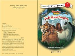 amazon com god u0027s great creation i can read adventure bible