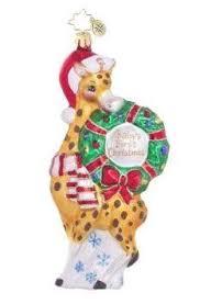 Giraffe Christmas Tree Ornaments by 72 Best Giraffe Christmas Oranments Images On Pinterest