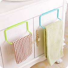 nesee bathroom kitchen cabinet cupboard towel rack hanging holder