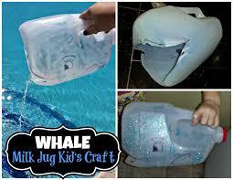 diy whale milk jug kid u0027s craft great for water play crafty
