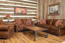 rustic living room furniture ideas with brown leather sofa western living room furniture western style living room furniture