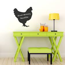 hen chalkboard wall sticker by spin collective hen chalkboard wall sticker