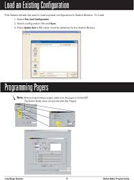 text layout programming guide 5629 beach bulter xp user manual layout 1 long range systems inc
