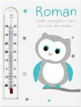 thermomètre mural chambre bébé cadre thermomètres pour enfants tous les articles