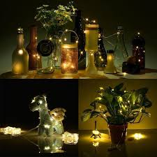 Decorative Lights For Vases 20 Leds Copper Wire Micro Fairy String Light Led Seed Light Led