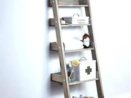 Bathroom Ladder Shelves Bathroom Ladder Shelf Elkar Club