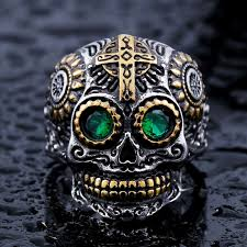 Amazing Skull - amazing skull tribal ring made from stainless steel wowrings