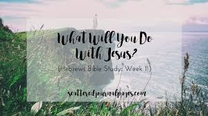 what will you do with jesus hebrews bible study week 11