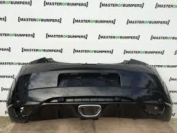 renault megane 2009 renault megane mk3 rs 250 2009 2014 rear bumper in black r48 ebay
