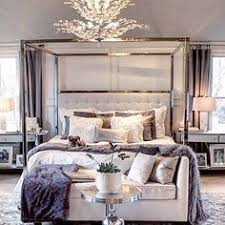 Bedroom Chandelier Ideas Heavenly White Master Bedroom Canopy Sheers Frame The Bed U0027s Tall